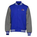 Letterman Fleece Jacket - Men's