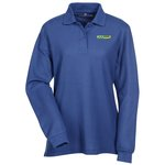 Soft Touch Pique LS Sport Shirt - Ladies'