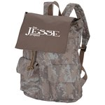 In Print Rucksack Backpack - Camo