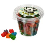 Round Snack Pack - Assorted Gummy Bears