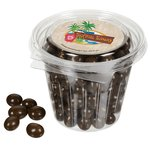 Round Snack Pack - Chocolate Peanuts