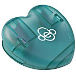 Keep-it Magnet Clip - Heart - Translucent
