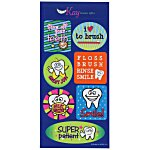 Super Kid Sticker Sheet - Tooth Time
