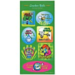 Super Kid Sticker Sheet - Go Green
