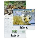 Farmer's Almanac 2015 Calendar-Baby Animals-Spiral- Closeout