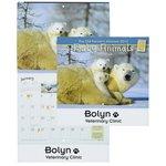 Farmer's Almanac 2015 Calendar-Baby Animals-Stapled-Closeout