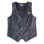 Grid Brocade Vest - Ladies'