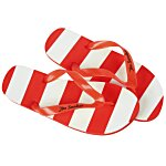 Striped Flip Flops - 24 hr