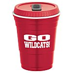 Game Day Cup w/Lid - Opaque - 16 oz. - 24 hr