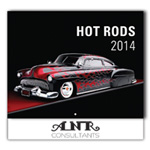 Hot Rods 13-Month Wall Calendar