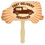 Hand Fan - Truck - Full Color