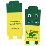 Paws and Claws Magnetic Bookmark - Gator