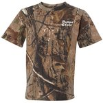 Code V Realtree Camouflage T-Shirt - Youth