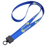 "Dye-Sublimated Stretchy Lanyard - 3/4"" - 36"" - 24 hr"