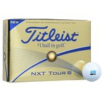 Titleist NXT Tour S Golf Ball - Dozen - Standard Ship