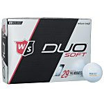 Wilson Duo Golf Ball - Dozen - Standard Ship