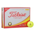 Titleist DT So-Lo Yellow Golf Ball - Dozen - Standard Ship