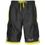 Burnside Swim Striped Board Shorts