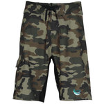 Burnside Camo-Diamond Dobby Board Shorts