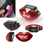 Safety Light Flashing Pedometer