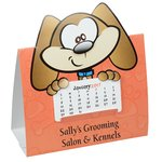 Die-Cut Desk Calendar - Dog