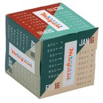Fun Shapes Cube Calendar - Angles