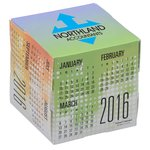 Fun Shapes Cube Calendar - Dots