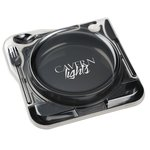 Cater Plate - Black w/Lid