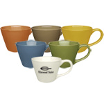 Earth Tone Ceramic Mug - 15 oz.