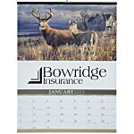 Wildlife Art Large Wall Calendar