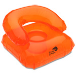 Beach Bum Inflatable Chair Head Pillow