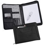 Wenger Deluxe Ballistic Zippered Padfolio Set