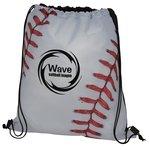 Sport Drawstring Sportpack - Baseball - 24 hr