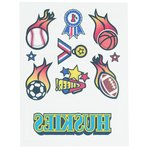 Temporary Tattoo Mini Sheet- Sports