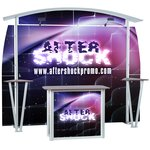Linear 10' Curved Floor Display Kit