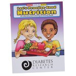 Practice Good Nutrition Coloring Book