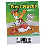 Color & Learn Book - First Words
