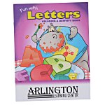 Color & Learn Book - Letters