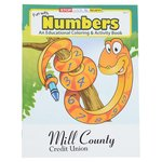 Color & Learn Book - Numbers