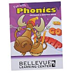 Color & Learn Book - Phonics