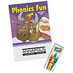 Color & Learn Activity Fun Pack - Phonics