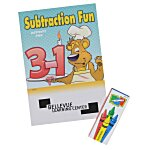 Color & Learn Activity Fun Pack - Subtraction