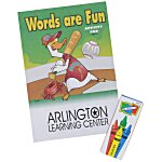 Color & Learn Activity Fun Pack - Words