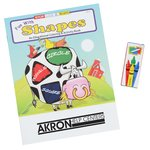 Color & Learn Fun Pack - Shapes