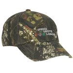 Outdoor Cap Frayed Visor Camo Cap
