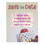 Bic Announcement/Save the Date Magnet - 20 mil - Birthday