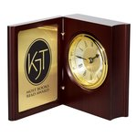 Wood Book Clock Award