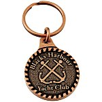 Econo Metal Key Tag - Round