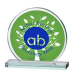 Orbit Jade Glass Award - 6