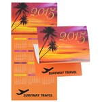Tropical Tranquility Calendar Greeting Card